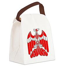 CelticPhoenixRedAlpha Canvas Lunch Bag