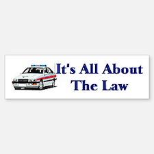 Police Bumper Bumper Bumper Sticker