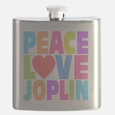 Peace Joplin Flask