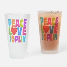 Peace Joplin Drinking Glass