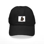 Brown Flight Black Cap