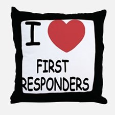 FIRST_RESPONDERS Throw Pillow