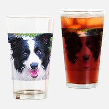 Border-Collie Drinking Glass