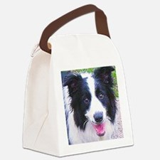 Border-Collie Canvas Lunch Bag