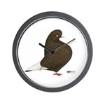 Brown Flight Wall Clock