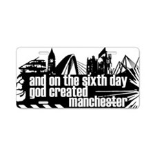 Manchester Sixth Day Aluminum License Plate