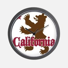 cali01 Wall Clock