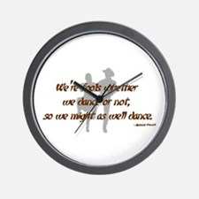 Country Dance Fools Wall Clock