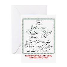 Reverse-RobinHood Greeting Card