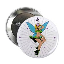 "DERBY_GIRL_TINK_THERMO B 2.25"" Button"