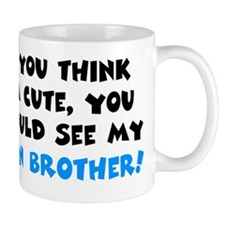 twin brother cute Mug