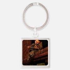 Horatius the Hobo Square Keychain