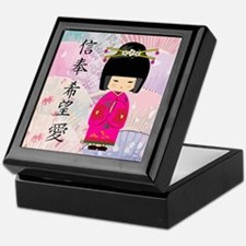 Dezine01_Geisha Faith-Hope-Love Keepsake Box