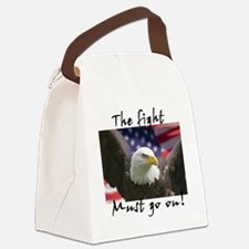 fighteagle1 Canvas Lunch Bag