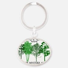 Cabot-Cove-Trees-Shorter Oval Keychain
