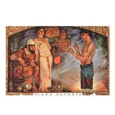 Egyptian_glassblower Postcards (Package of 8)