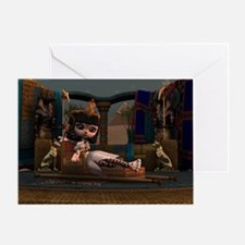 Cleopatra in Recline Greeting Card