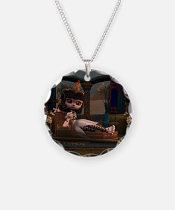 Cleopatra in Recline Necklace