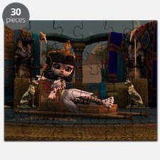 Cleopatra in Recline Puzzle