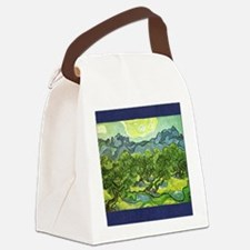 Van Gogh olive trees Canvas Lunch Bag