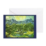 Vincent van gogh Greeting Cards