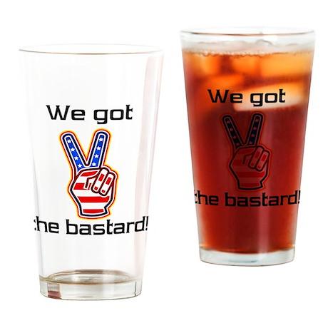 bastard1 Drinking Glass