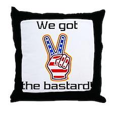 bastard1 Throw Pillow