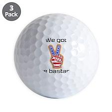 bastard1 Golf Ball