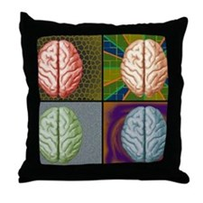 panels Throw Pillow