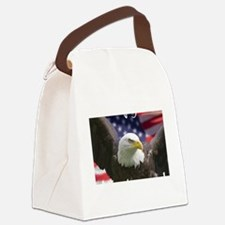 fighteagle2 Canvas Lunch Bag