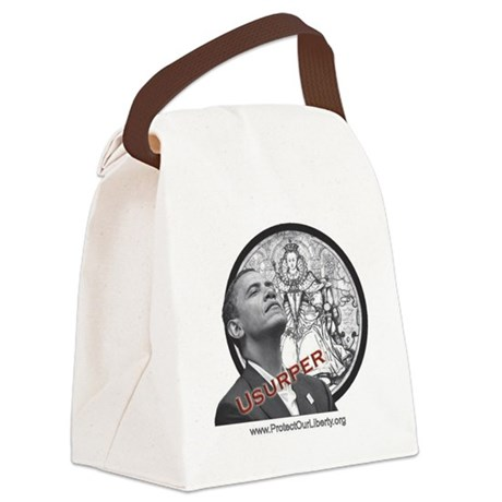 obama-usurper-mug-539x500 with PO Canvas Lunch Bag