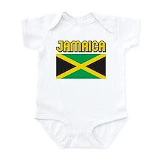 Jamaica Flag Infant Bodysuit