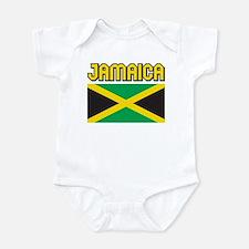 Jamaica Flag Onesie