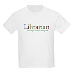 Librarian Kids Light T-Shirt