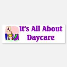 Daycare Bumper Bumper Bumper Sticker