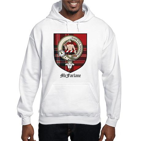 McFarlane Clan Crest Tartan Hooded Sweatshirt
