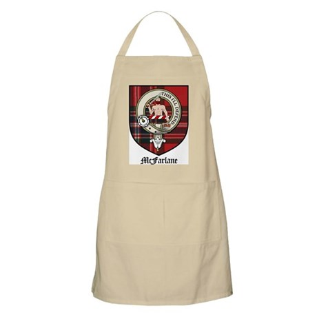 McFarlane Clan Crest Tartan BBQ Apron