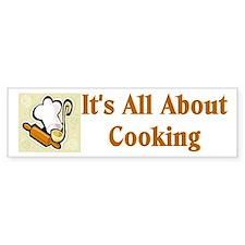 Chef Cook Caterer Bumper Bumper Sticker