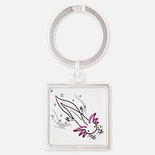 axolotl Square Keychain