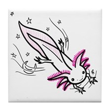axolotl Tile Coaster