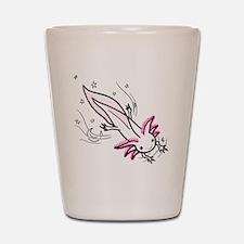 axolotl Shot Glass