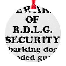 BDLG Ornament