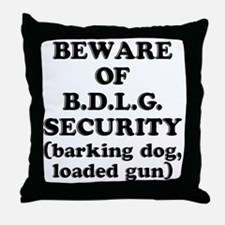 BDLG Throw Pillow