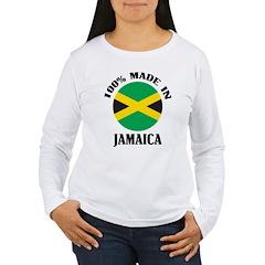 Made In Jamaica Women's Long Sleeve T-Shirt