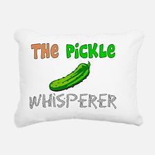The Pickle Whisperer Rectangular Canvas Pillow