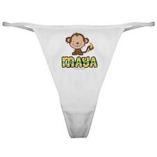 maya-monkey Classic Thong