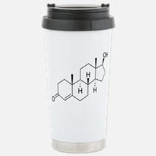 Testosterone-molecule-nt Travel Mug