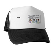2-HelpersIncText Trucker Hat
