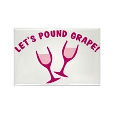 cougar-town-lets-pound-grape Rectangle Magnet