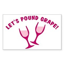 cougar-town-lets-pound-grape Decal